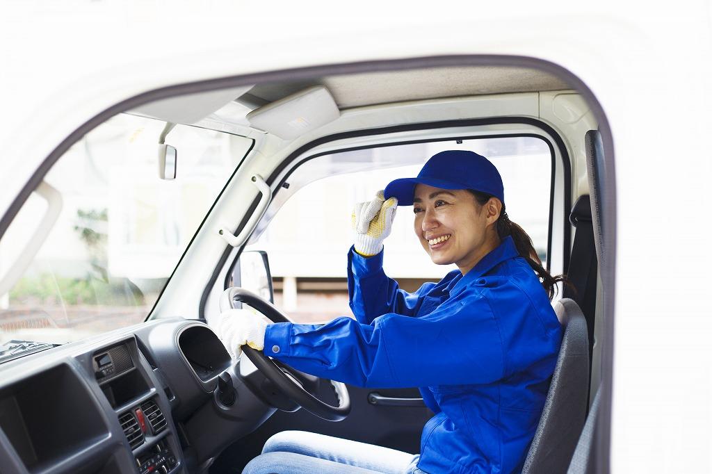 女性でも活躍できる!軽貨物配送ドライバー!
